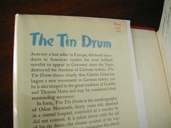 Identification picture of The Tin Drum.