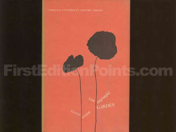 Picture of the 1961 first edition dust jacket for The Ungrateful Garden.