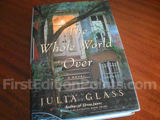 Picture of the 2006 first edition dust jacket for The Whole World Over.