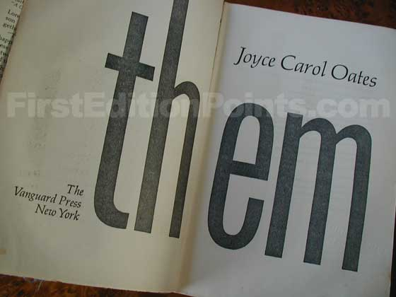 Picture of the title page for Them.