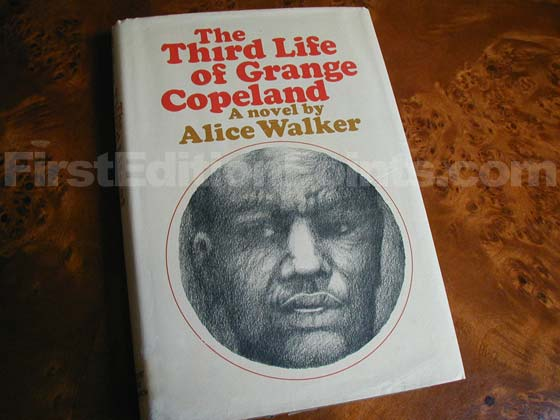 Picture of the 1970 first edition dust jacket for The Third Life Of Grange Copeland.