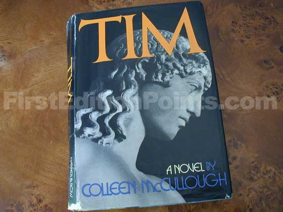 Picture of the 1974 first edition dust jacket for Tim.