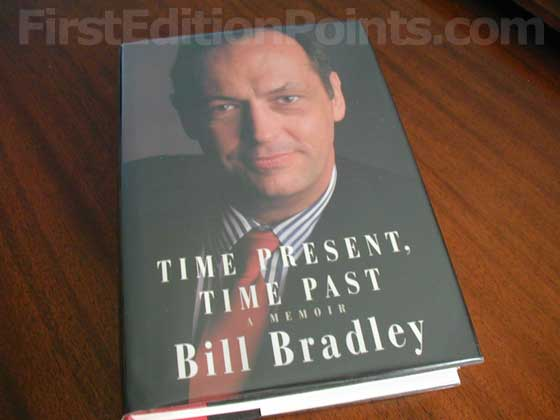 Picture of the 1996 first edition dust jacket for Time Present, Time Past.