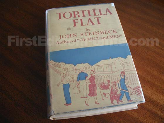 This is a reprint of Tortilla Flat published by Grosset & Dunlap a few years after