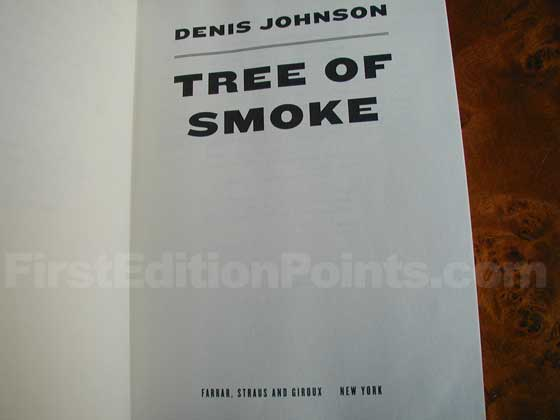 Identification picture of Tree of Smoke.