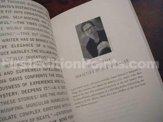 The fifth page has a photo of the author.
