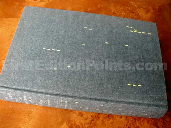 Picture of the first edition William Sloane Associates boards for The View from the