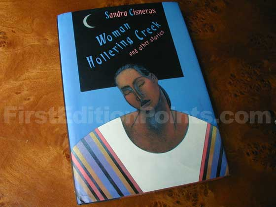 Picture of the 1991 first edition dust jacket for Woman Hollering Creek and Other