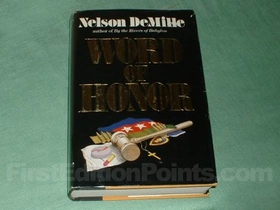 Picture of the 1985 first edition dust jacket for Word of Honor.