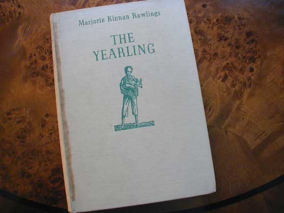 First edition binding of The Yearling.