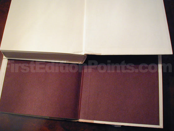 Ahabs Wife End Paper First Edition And Book Club Edition
