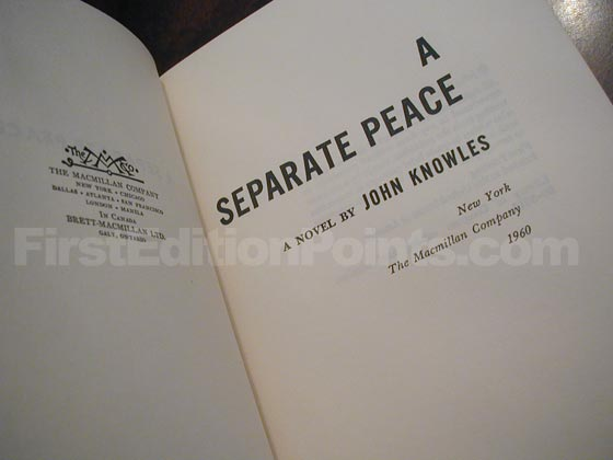 Identification picture of A Separate Peace (U.S.).