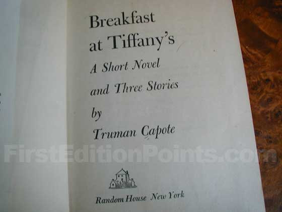 Identification picture of Breakfast at Tiffany's.