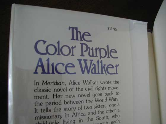 the color purple brief plot summary murderthestout first edition points to identify the color purple by alice walker
