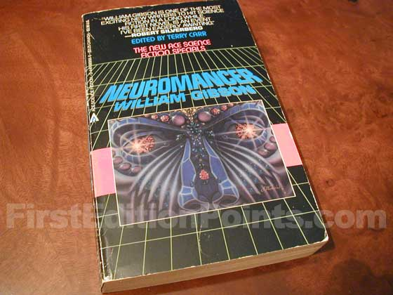 Picture of the true first edition of Neuromancer.