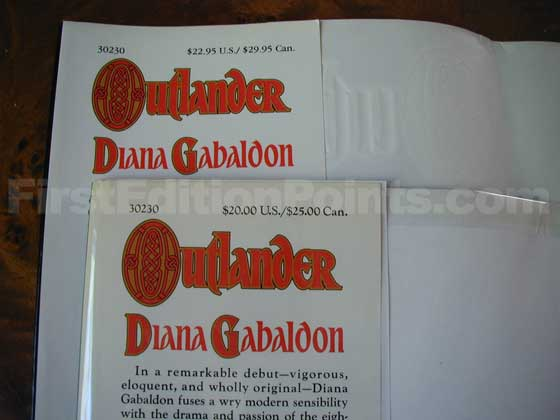 The first issue dust jacket has a $20.00 price.  The later issue jacket is from a seventh