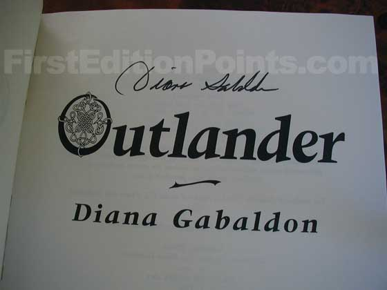 Identification picture of Outlander.