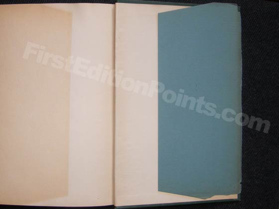 The back dust jacket flap of Rebecca of Sunnybrook Farms is blank.  Photo courtesy of The
