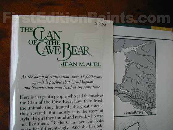 Identification picture of The Clan of the Cave Bear.