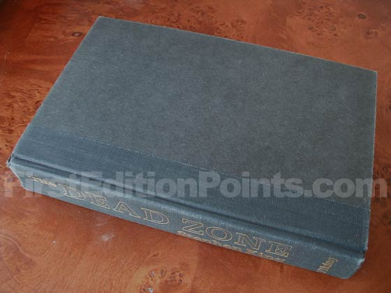 Picture of the first edition Viking Press boards for The Dead Zone.