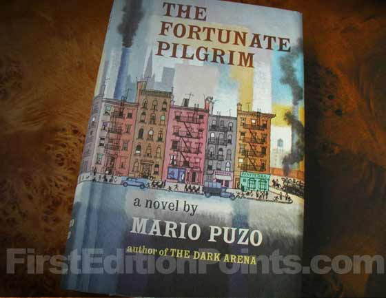 Picture of the 1965 first edition dust jacket for The Fortunate Pilgrim.