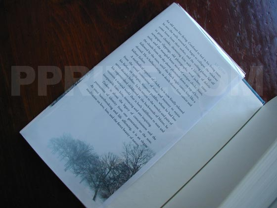 The dust jacket from the first edition hardcover of Tinkers has a price of $25.00 found