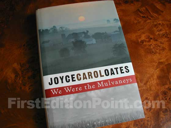 Picture of the 1996 first edition dust jacket for We Were the Mulvaneys.