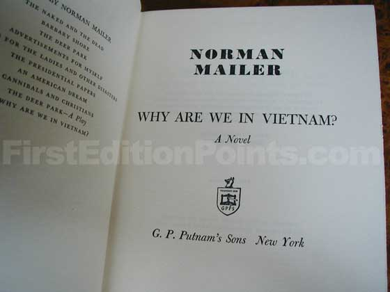 Identification picture of Why Are We in Vietnam?.